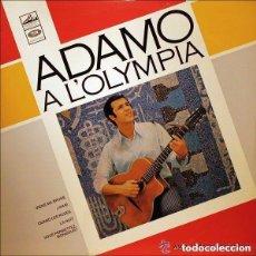 Discos de vinilo: ADAMO À L'OLYMPIA LP NETHERLANDS 1965. Lote 104373547