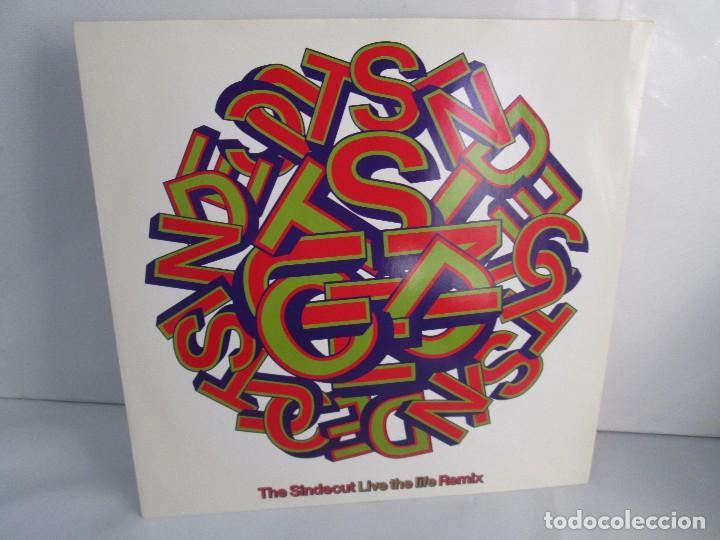 THE SINDECUT. LIVE THE LIFE. REMIX. E.P. VINILO .VIRGIN RECORDS 1990. VER FOTOGRAFIAS ADJUNTAS (Música - Discos - Singles Vinilo - Electrónica, Avantgarde y Experimental)