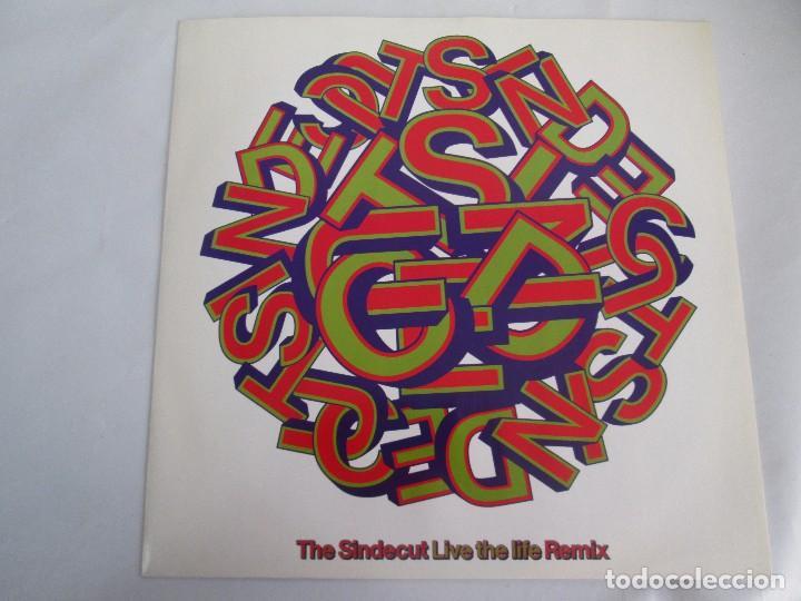 Discos de vinilo: THE SINDECUT. LIVE THE LIFE. REMIX. E.P. VINILO .VIRGIN RECORDS 1990. VER FOTOGRAFIAS ADJUNTAS - Foto 2 - 104374915