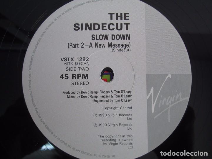 Discos de vinilo: THE SINDECUT. LIVE THE LIFE. REMIX. E.P. VINILO .VIRGIN RECORDS 1990. VER FOTOGRAFIAS ADJUNTAS - Foto 4 - 104374915