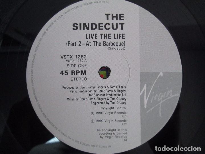 Discos de vinilo: THE SINDECUT. LIVE THE LIFE. REMIX. E.P. VINILO .VIRGIN RECORDS 1990. VER FOTOGRAFIAS ADJUNTAS - Foto 6 - 104374915