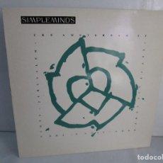 Discos de vinilo: SIMPLE MINDS. THE AMSTERDAN E. P. VINILO. VIRGIN RECORDS 1989. VER FOTOGRAFIAS ADJUNTAS. Lote 104375171