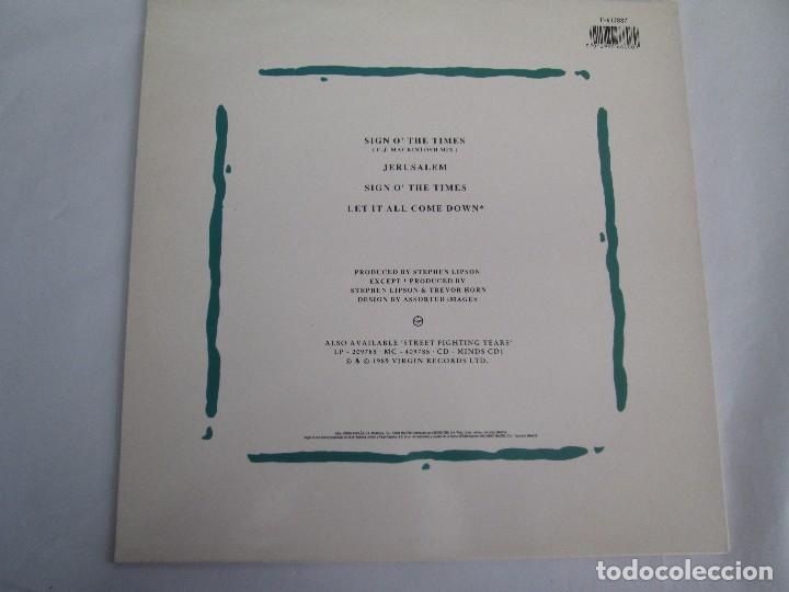 Discos de vinilo: SIMPLE MINDS. THE AMSTERDAN E. P. VINILO. VIRGIN RECORDS 1989. VER FOTOGRAFIAS ADJUNTAS - Foto 7 - 104375171