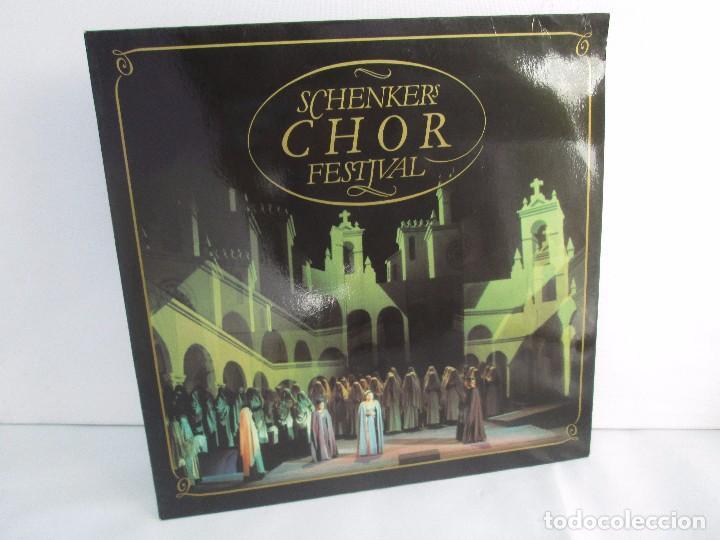 SCHENKERS CHOR FESTIVAL. LP VINILO. BMG ARIOLA 1989. VER FOTOGRAFIAS ADJUNTAS (Música - Discos - Singles Vinilo - Clásica, Ópera, Zarzuela y Marchas)