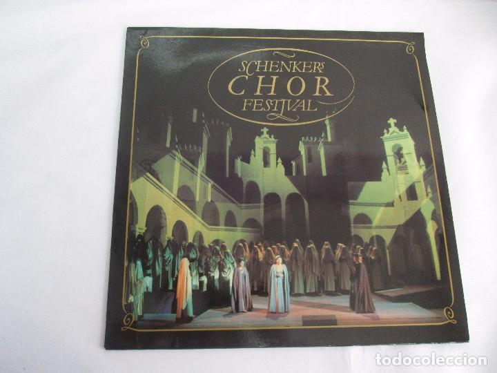 Discos de vinilo: SCHENKERS CHOR FESTIVAL. LP VINILO. BMG ARIOLA 1989. VER FOTOGRAFIAS ADJUNTAS - Foto 2 - 104375599