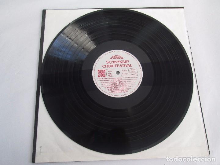Discos de vinilo: SCHENKERS CHOR FESTIVAL. LP VINILO. BMG ARIOLA 1989. VER FOTOGRAFIAS ADJUNTAS - Foto 3 - 104375599