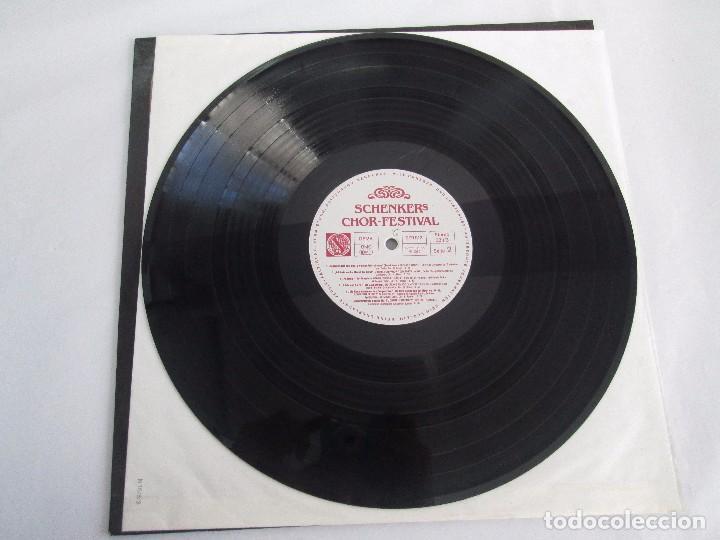 Discos de vinilo: SCHENKERS CHOR FESTIVAL. LP VINILO. BMG ARIOLA 1989. VER FOTOGRAFIAS ADJUNTAS - Foto 5 - 104375599