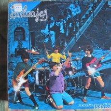 Discos de vinilo: LP - LOS SALVAJES - ROCKERO PREMATURO (SPAIN, BELTER 1982, CONTIENE ENCARTE). Lote 104387043