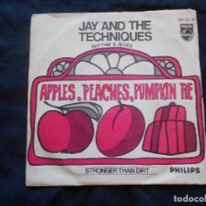 Discos de vinilo: JAY AND THE TECCHNIQUES // APPLES, PEACHES,, PUMPKIN PIE + 1. Lote 104387115