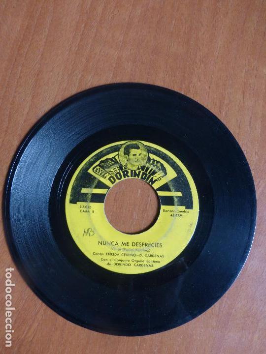Discos de vinilo: Conjunto Orgullo Santeño De Dorindo Cardenas - antes que venga la guerra / nunca me desprecies - - Foto 4 - 104389799