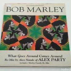 Discos de vinilo: BOB MARLEY–WHAT GOES AROUND COMES AROUND. Lote 142367246