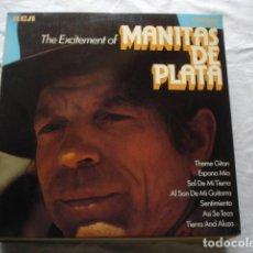 Discos de vinilo: MANITAS DE PLATA THE EXCITEMENT OF MANITAS DE PLATA . Lote 104391551