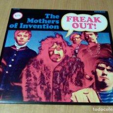 Discos de vinilo: THE MOTHERS OF INVENTION - FREAK OUT! (LP REEDICIÓN) NUEVO. Lote 104395711