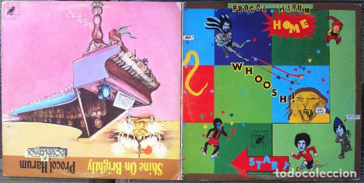 Discos de vinilo: Procol Harum - Shine on brightly+Home - 2 LP Cube Records 1972 Edición inglesa - Foto 3 - 104401979