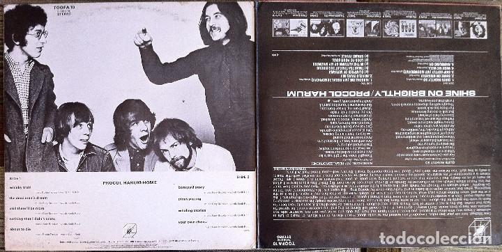 Discos de vinilo: Procol Harum - Shine on brightly+Home - 2 LP Cube Records 1972 Edición inglesa - Foto 5 - 104401979
