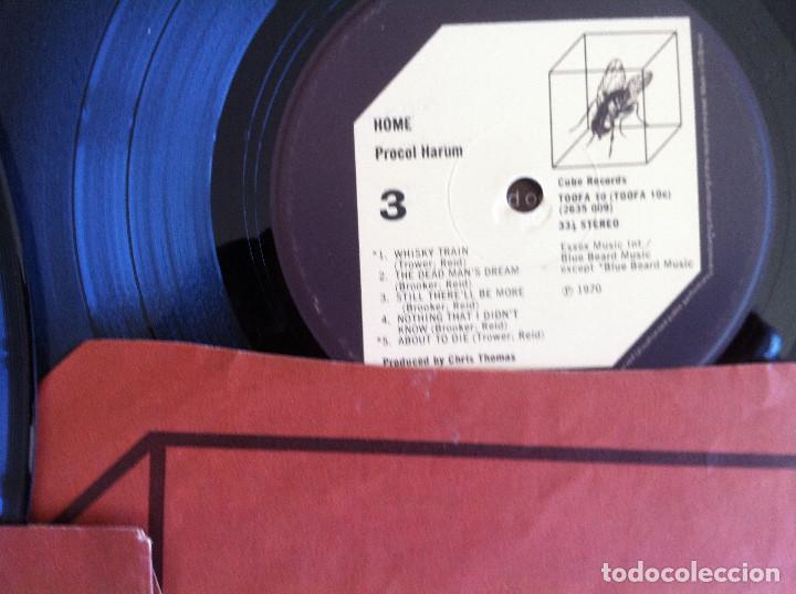 Discos de vinilo: Procol Harum - Shine on brightly+Home - 2 LP Cube Records 1972 Edición inglesa - Foto 8 - 104401979