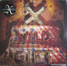 Discos de vinilo: X: WILD GIFT (REMASTERIZADO) - PRODUCIDO POR RAY MANZAREK (THE DOORS). Lote 124587634