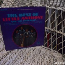 Discos de vinilo: LITTLE ANTHONY & THE IMPERIALS– THE BEST OF LITTLE ANTHONY &...LP ORIGINAL USA 1966.SELLO VEEP.STER. Lote 104436919