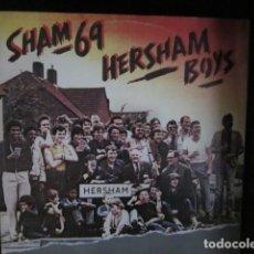 Discos de vinilo: SHAM 69 - HERSHAM BOYS - MAXI - EDICION INGLESA DEL AÑO 1979.. Lote 104437679