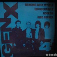 Discos de vinilo: GENERATION X - DANCING WITH MYSELF - MAXI DE 4 TEMAS - EDICION UK DEL AÑO 1981.. Lote 104438155