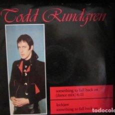 Discos de vinilo: TODD RUNDGREN - SOMETHING TO FALL BACK ON(DANCE MIX) - MAXI - EDICION UK DEL AÑO 1985,. Lote 104442579