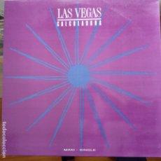 Discos de vinilo: LAS VEGAS - CALCULADORA (KRAFTWERK VERSION) / QUE NO PARE - MAXI NUEVO PROMO ESPAÑOL. Lote 104451103