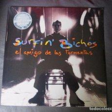 Discos de vinilo: SURFIN' BICHOS - EL AMIGO DE LAS TORMENTAS - LP + CD - SONY 2017 EU - NUEVO PRECINTADO. Lote 104451651