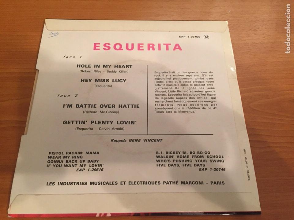 Discos de vinilo: Esquerita - Esquerita EP- Capitol- 1965- France - Foto 2 - 104463694