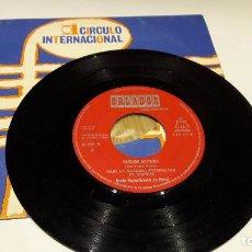 Discos de vinilo: GARDE REPUBLICANE DE PARIS / MARCHAS MILITARES / SINGLE / ORLADOR-1966 / MBC. ***/***. Lote 104466711