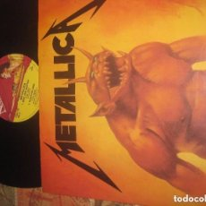 Discos de vinilo: METALLICA. MAXI SINGLE. JUMP IN THE FIRE.(MUSIC FOR NATIONS 1983) OG ENGLAND. Lote 104471939