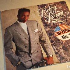 Discos de vinilo: BOBBY BROWN LP 1988 MCA DON'T BE CRUEL . Lote 104474159