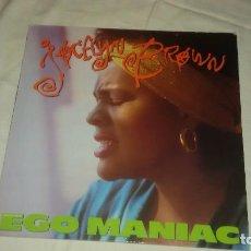 Discos de vinilo: JOCELYN BROWN ?– EGO MANIAC, 1987. 45 RPM. Lote 104495447