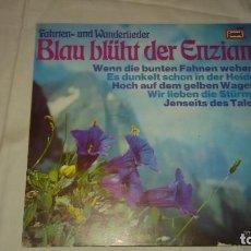Discos de vinilo: INA BERGNER, FRED HEIDERS ?– BLAU BLÜHT DER ENZIAN,1973. Lote 104501515