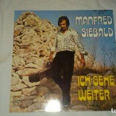 Discos de vinilo: MANFRED SIEBALD ?– ICH GEHE WEITER,1974. Lote 104504663