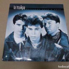 Discos de vinilo: LA TRAMPA (LP) BAILANDO ROCK & ROLL AÑO 1992 – PORTADA ABIERTA. Lote 104506403