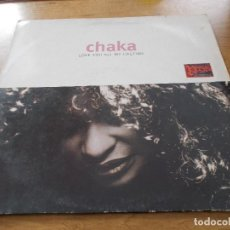 Discos de vinilo: CHAKA. LOVE YOU ALL MY LIFETIME. Lote 104512095