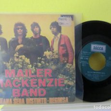 Discos de vinilo: MAILER MACKENZIE BAND 1971 , SINGLE 88. Lote 104515783