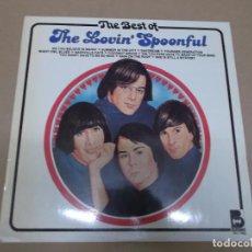 Discos de vinilo: THE LOVIN' SPOONFUL (LP) THE BEST AÑO 1980. Lote 104518091