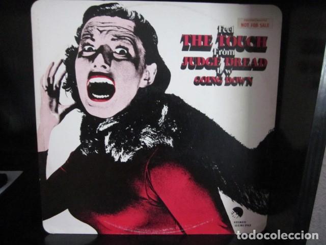 JUDGE DREAD - THE TOUCH - MAXI DE 2 TEMAS - EDICION INGLESA DEL AÑO 1979. (Música - Discos de Vinilo - Maxi Singles - Pop - Rock Extranjero de los 70)