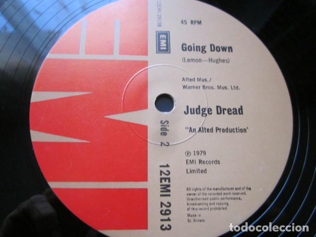 Discos de vinilo: JUDGE DREAD - THE TOUCH - MAXI DE 2 TEMAS - EDICION INGLESA DEL AÑO 1979. - Foto 4 - 104518143
