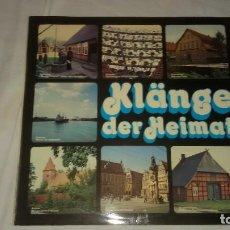Discos de vinilo: KLANGE DER HEIMAT ,FOLK . Lote 104529475