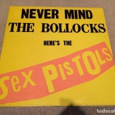 Discos de vinilo: SEX PISTOLS -NEVER MIND THE BOLLOCKS HERE'S THE SEX PISTOLS- (1985) LP DISCO VINILO. Lote 104530407