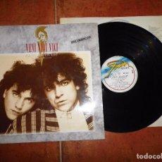 Discos de vinilo: VENI VIDI VICI ALEA JACTA EST LP VINILO DEL AÑO 1987 CON ENCARTE JAVIER LOSADA TINO CASAL 10 TEMAS. Lote 104530855