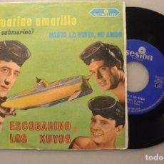 Discos de vinilo: DISCO SINGLE ESCOBARINO Y LOS XUYOS. Lote 104536835