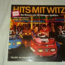 Discos de vinilo: VARIOUS ?– HITS MIT WITZ 1979. Lote 104544347