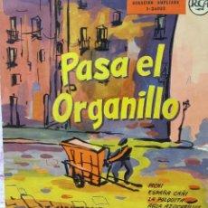Discos de vinilo: PASA EL ORGANILLO. Lote 104544563