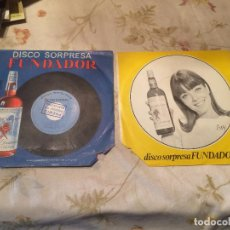 Discos de vinilo: 2 SINGLE / DISCO SORPRESA EN FUNDADOR VARIOS ARTISTAS AÑO 1967 . Lote 104550223