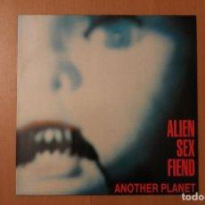 Discos de vinilo: ALIEN SEX FIEND - ANOTHER PLANET - PLAGUE ANAGRAM RECORDS 1988. Lote 104550431