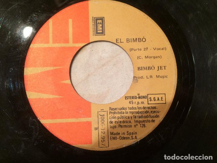Discos de vinilo: Antiguo 4 single vinilo varios artistas, Bimbó, chango, chichos años 70 - Foto 3 - 104550779