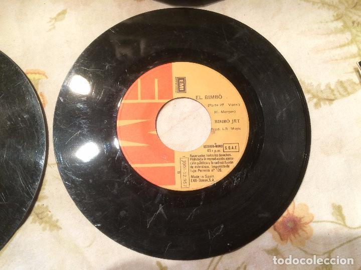 Discos de vinilo: Antiguo 4 single vinilo varios artistas, Bimbó, chango, chichos años 70 - Foto 4 - 104550779